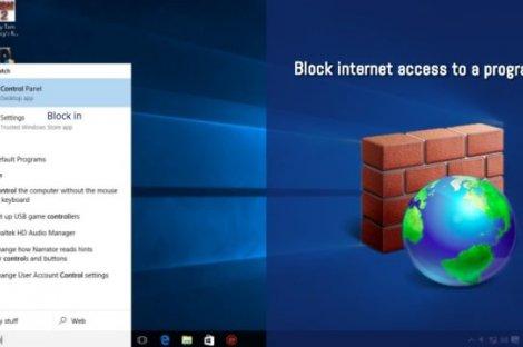 چگونه در ویندوز دسترسی یک برنامه به اینترنت را مسدود کنیم؟