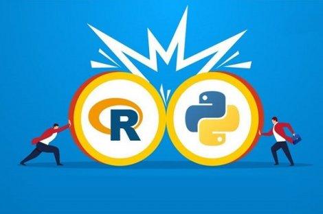 پایتون یا R کدامیک برای علم دادهها بهتر است و بازار کار بهتری دارد؟
